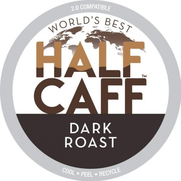 World's Best Half Caff Hazelnut Coffee