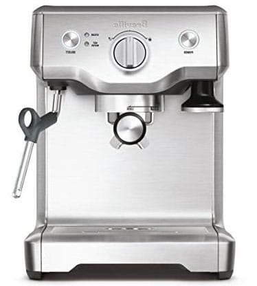 Breville BES810BSSUSC Duo Temp Brewing Capacity