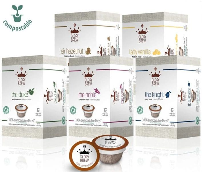 GLORYBREW – Variety Pack - Compostable Coffee Pods