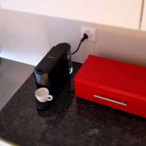 Nespresso Essenza Mini Ease of Cleaning